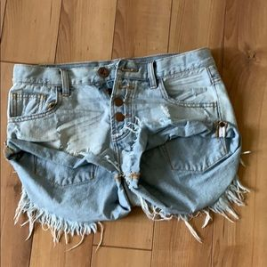 One teaspoon jean shorts 25 Bandits